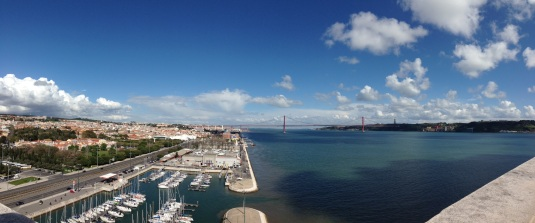The View from that tower was beautiful