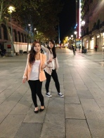 The night we came to Barcelona