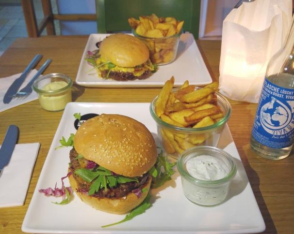 I had the persian Burger ... Mhhhh